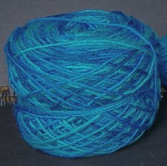 space dyed sock yarn 2